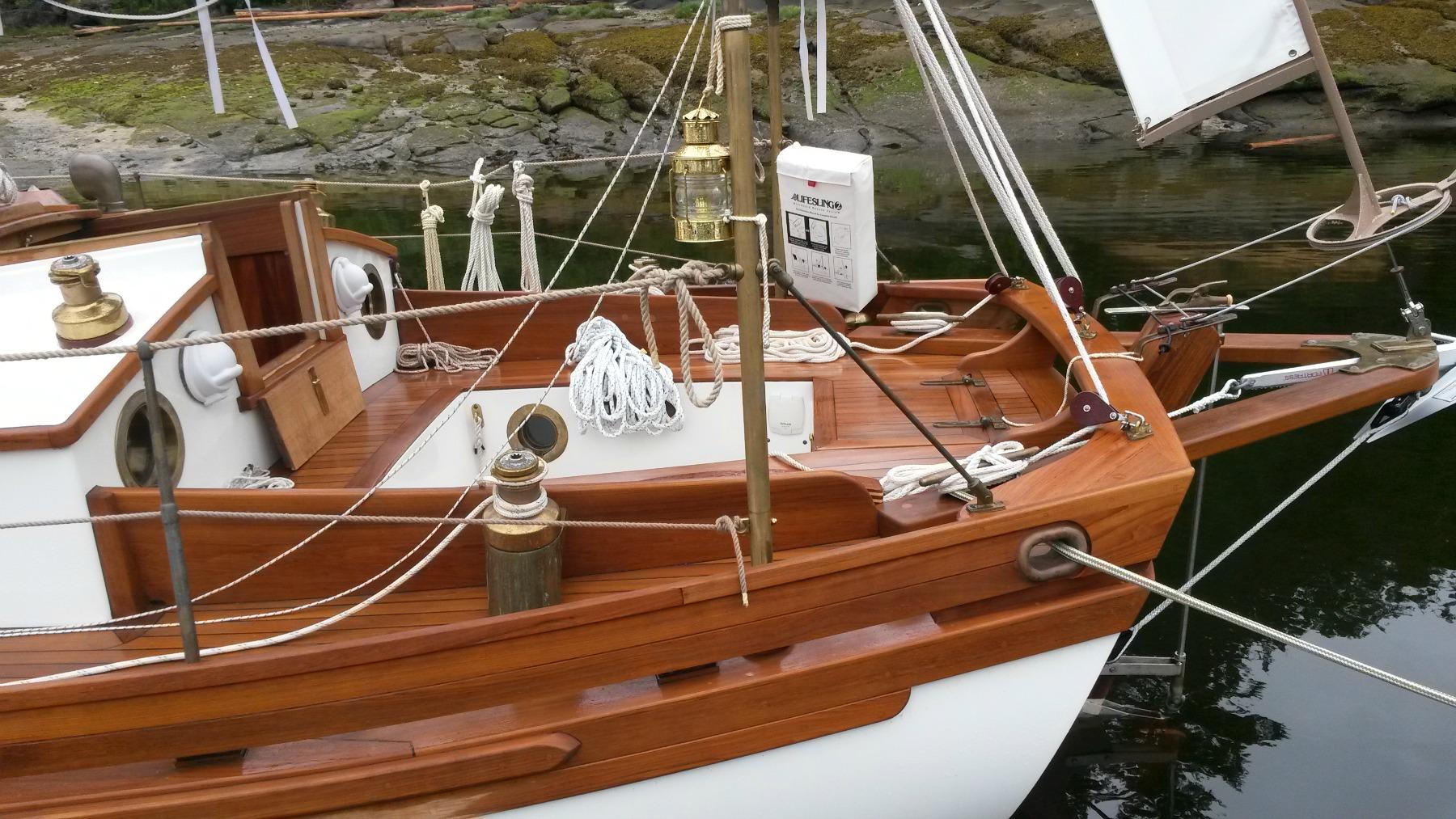 cockpit | Channel Cutter Yachts